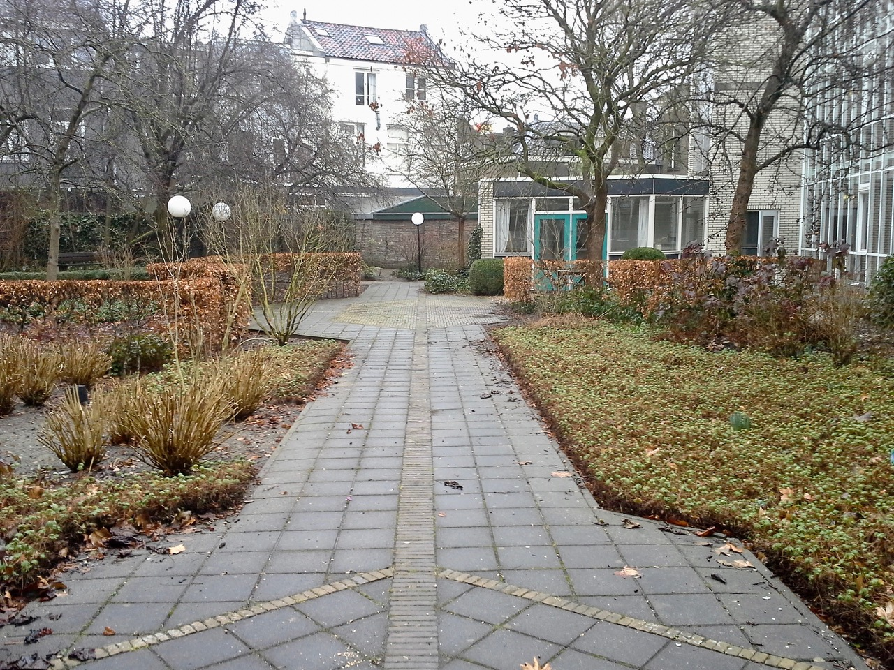 tuin voor de herinrichting - herfst