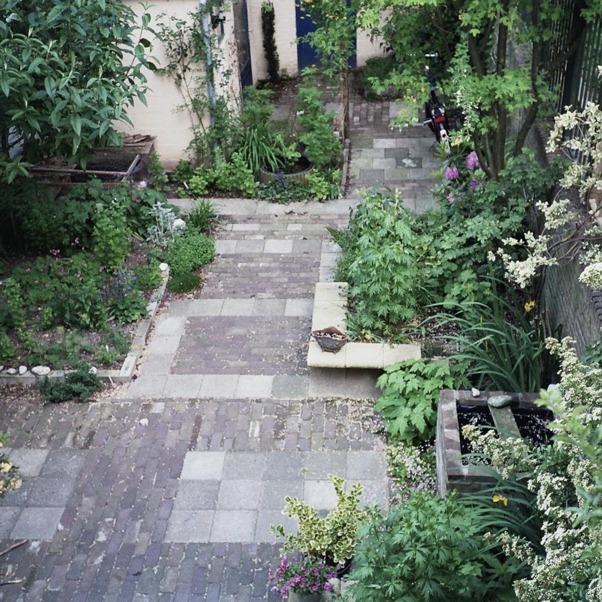 tuin hergebruik stenen