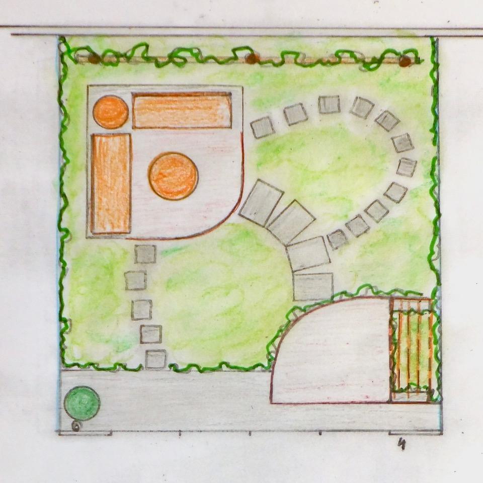 ontwerp stadstuin